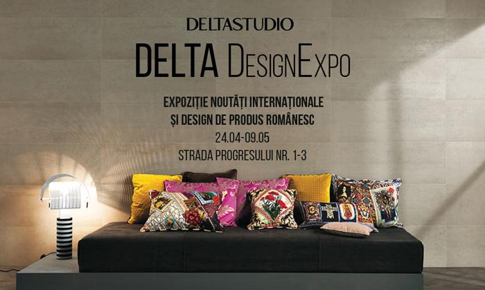 afis expozitie design si noutati-deltadesign