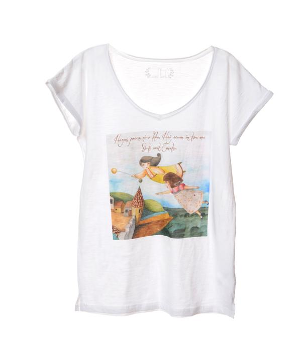 tricou supriza-dama