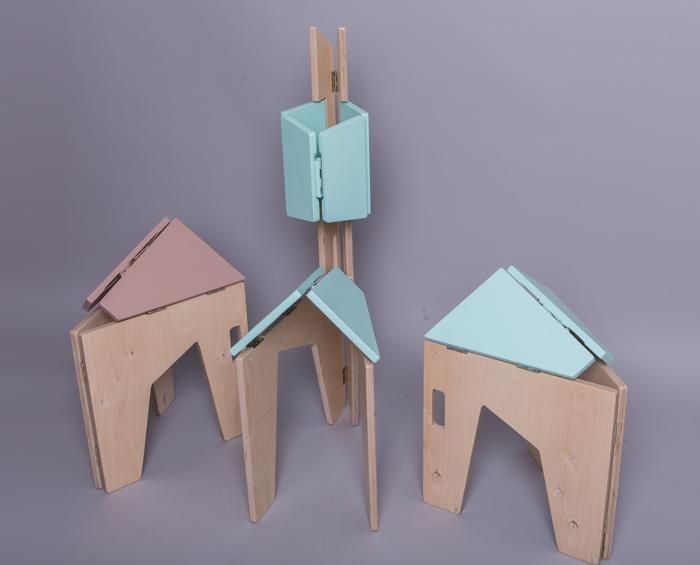 10Scaun pliabil lemn - Sorana Pintilie - Designist