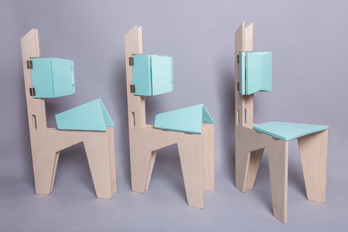 1Scaun pliabil lemn - Sorana Pintilie - Designist