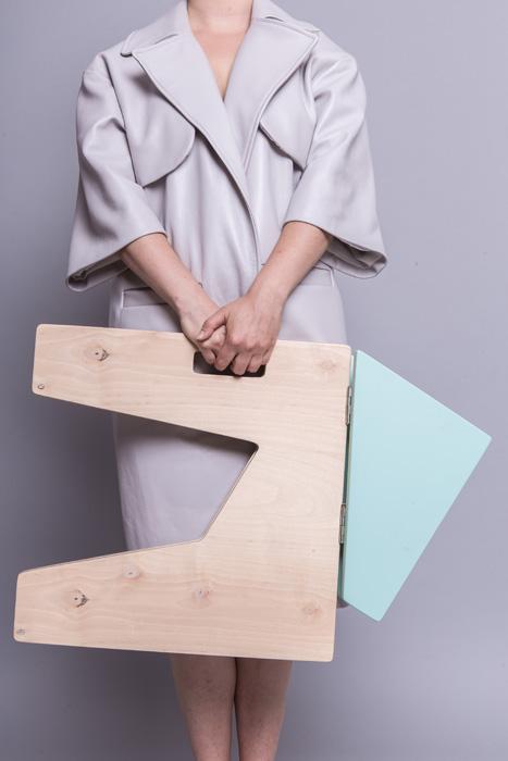 3Scaun pliabil lemn - Sorana Pintilie - Designist