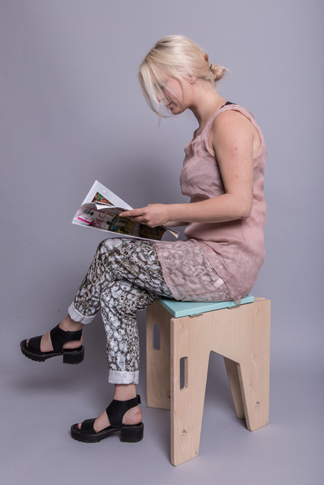 5Scaun pliabil lemn - Sorana Pintilie - Designist