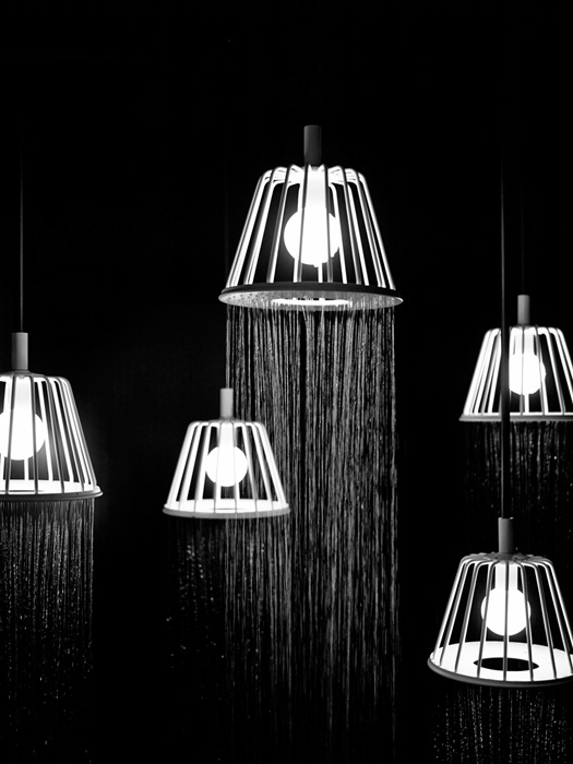 6Shower lamp - Nendo - Designist