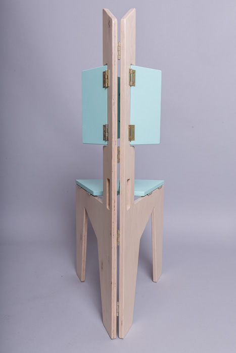 7Scaun pliabil lemn - Sorana Pintilie - Designist