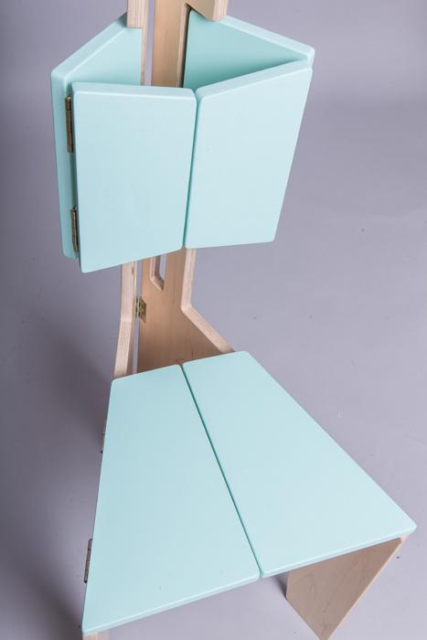 8Scaun pliabil lemn - Sorana Pintilie - Designist