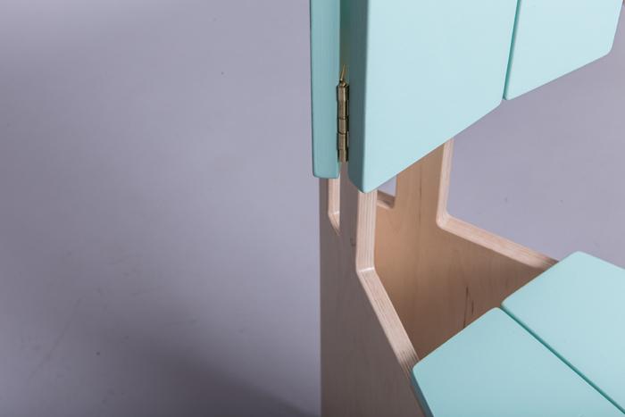 9Scaun pliabil lemn - Sorana Pintilie - Designist