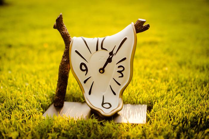 ceas de birou ramura