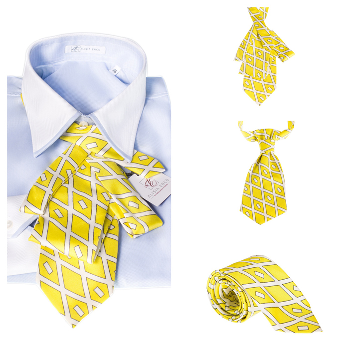 Cravatele ALISIA ENCO Yello!