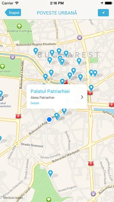 Harta obiectivelor din apropiere - in detaliu