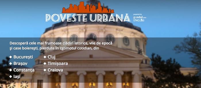 Poveste urbana - aplicatie - Designist