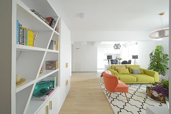 2Apartament Hanner - Irina Pogonaru - Designist