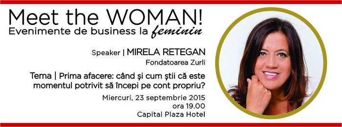 Banner Meet the WOMAN!