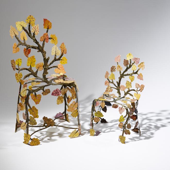 11Scaune din frunze bordate - Designist