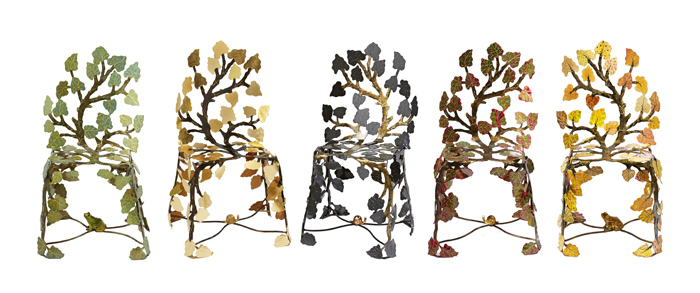 1Scaune din frunze bordate - Designist