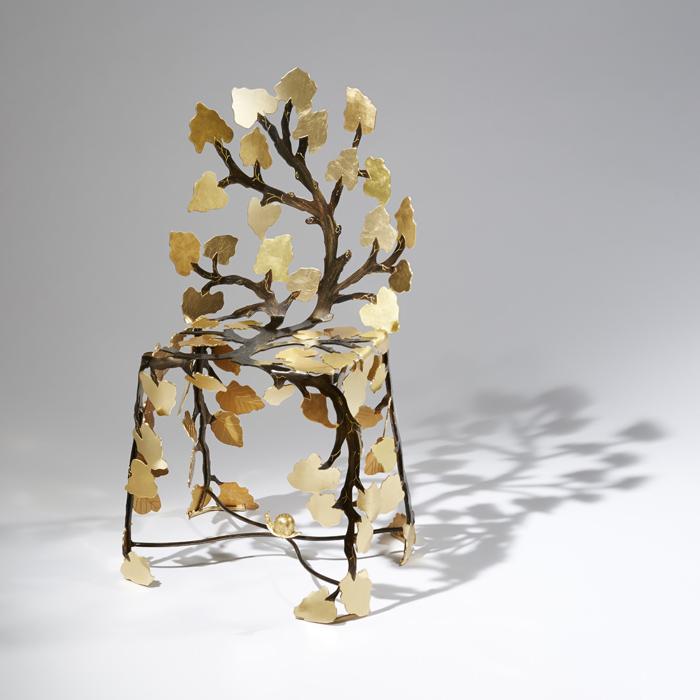 8Scaune din frunze bordate - Designist