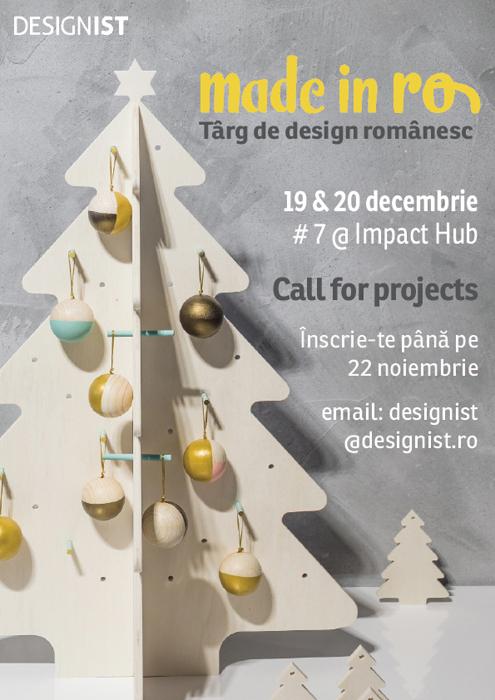 Made in RO Targ de design romanesc editia 7 vizual call for projects