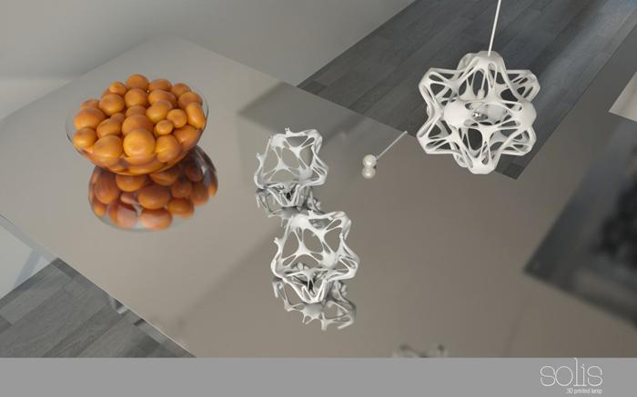 Solis 3D Printed Lamp
