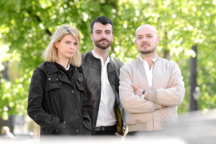 The Park - Attila Kim, Bogdan Cicodeică și Diana Roșu - designist