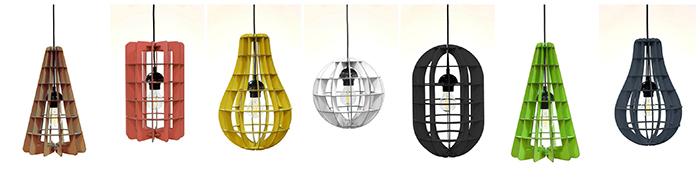 1_Foldo - Corpuri de iluminat Geometric - Designist