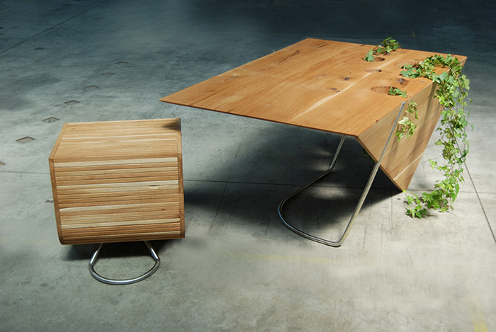 2_BIROU PIRAMID s - - Atelier Ciprian Manda - Designist
