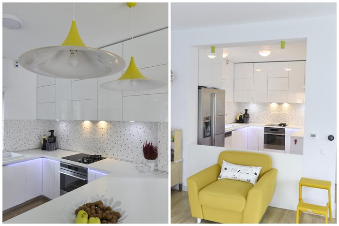 Simona Ungurean Homestyling design bucatarie galben si alb2_designist