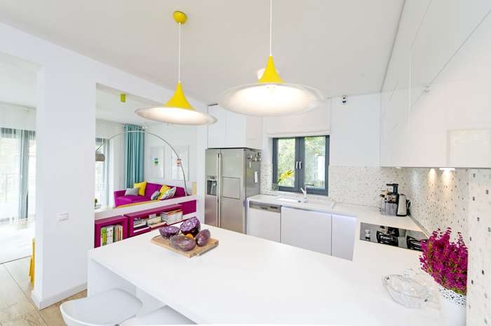 Simona Ungurean Homestyling design bucatarie galben si alb4_designist