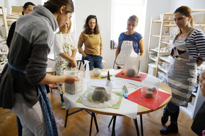 11Curs Ceramica - sesiunea toamna 2015 - Designist Creative Learning