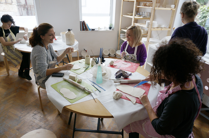 41Curs Ceramica - sesiunea toamna 2015 - Designist Creative Learning
