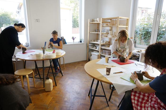 6Curs Ceramica - sesiunea toamna 2015 - Designist Creative Learning