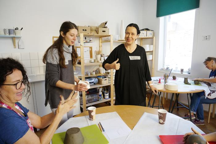 9Curs Ceramica - sesiunea toamna 2015 - Designist Creative Learning