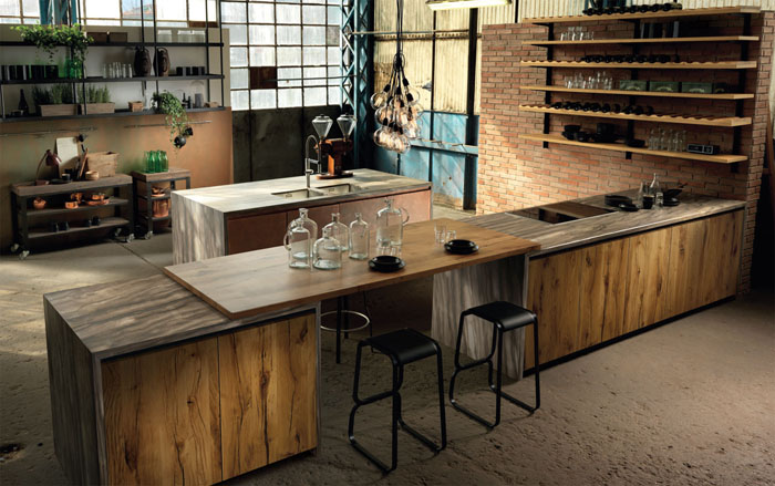 Bucatarie Factory de la Aster Cucine
