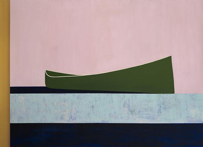 Canoe pe fond roz 72