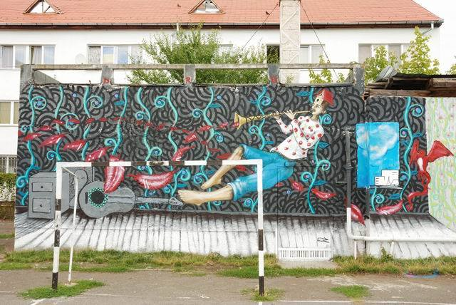 5Sibiu International Street Art Festival - Designist