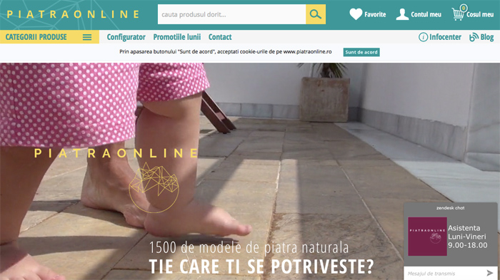 Noua platforma Piatra Online