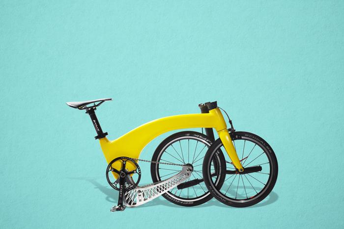 cea mai ușoară bicicletă pliabilă din lume