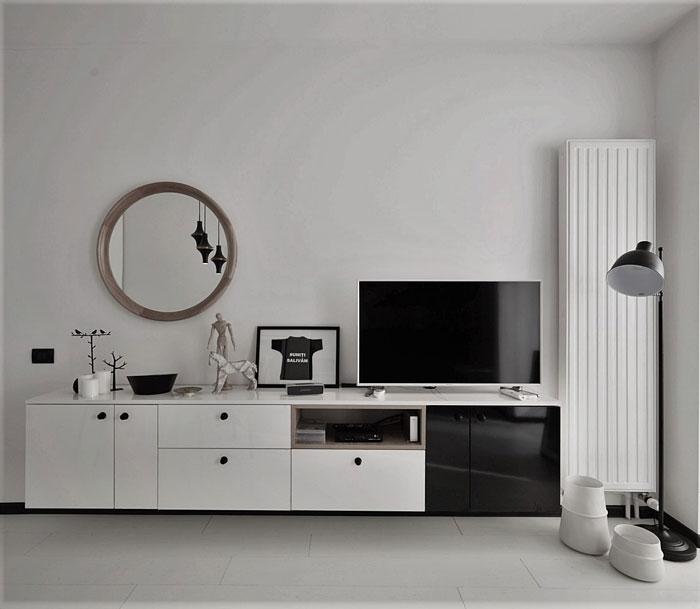 studioul alb-negru
