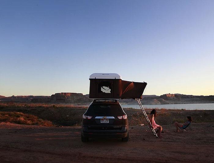 Skycamp cort