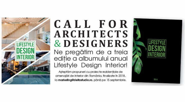 call for architects and designers