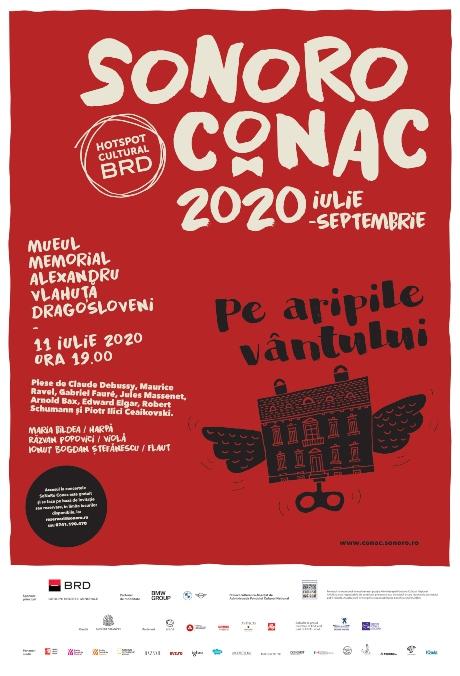 Designist afis Sonoro Conac 2020   Casa Vlahuta Dragosloveni