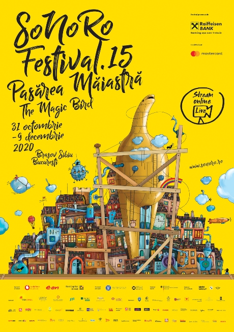 """Festivalul SoNoRO XV """"Pasărea Măiastră"""" zboară începând cu 31 octombrie"""